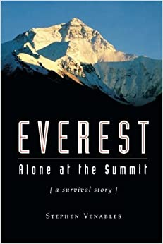Book Everest: Alone at the Summit (Adrenaline) by Stephen Venables (2000-09-07)