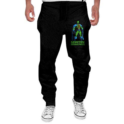 Mens Martian Manhunter Superhero John Jones Men's Casual Sweatpants Pants (Jones Sweat Light)
