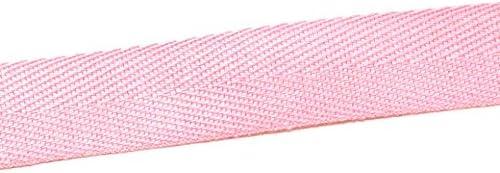 Essential Trimmings Ruban en Coton /à Chevrons Rose 20 mm Vendu au m/ètre