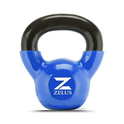 UPC 610731115739, Z ZELUS Cast Iron Vinyl Coated Kettlebell for Women/Men Workout (15)