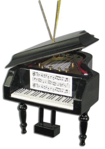 Amazon.com: Miniature Grand Piano Christmas Ornament 2.75