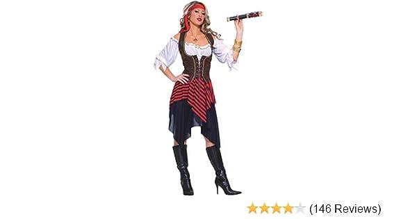 a174fbdba3c Forum Novelties Women's Sweet Buccaneer Pirate Costume