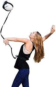 BREEZEY Football Kick Accessories Trainer Waist Belt Elastic Adjustable Control Solo Training Strap for Soccer