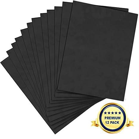 amazon com foam board 20 x 30 x 3 16 premium 12 pack black