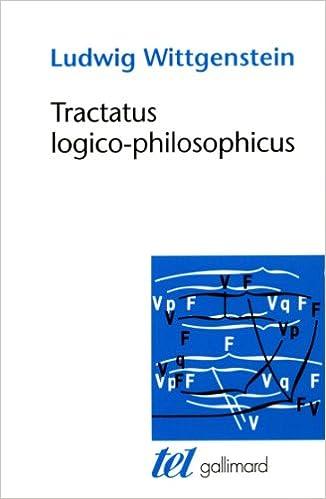 Livres gratuits en ligne Tractatus logico-philosophicus pdf