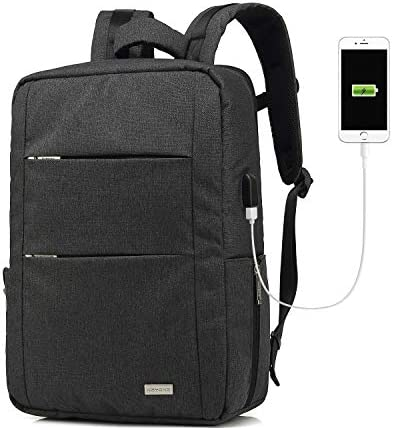Business Backpack Computer Water Resistent Eco Friendly