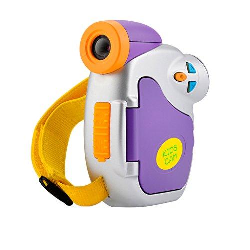 Baoblaze Videocámara de Cámara para niños y niñas Juguetes de Regalo de pantalla TFT de 1,5 pulgadas Accesorios de...