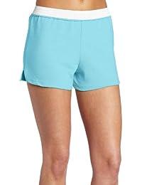 Juniors Athletic Short, Lt. Turquoise, Large