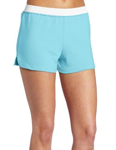 - Soffe Juniors Athletic Short, Lt. Turquoise, Large