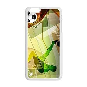 Creative Football Pattern Custom Protective Hard Phone Cae For Iphone 6 Plus