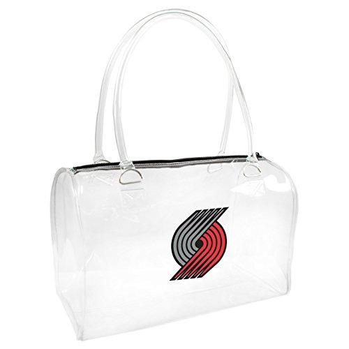Littlearth NBA klar Bowler, Damen Bowler Handtasche, One size, transparent