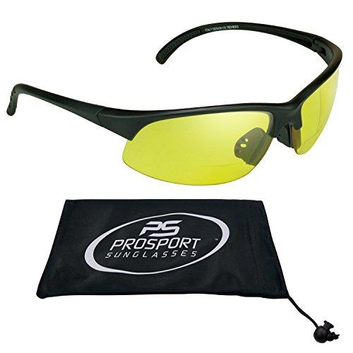 Sport bifocal yellow sunglasses Night - Glasses Bifocal Cycling
