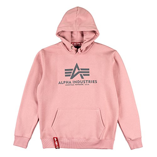 Hoody Silver Basic Pink Alpha Industries A4wx15qnOP