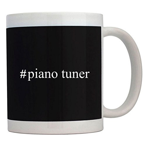 Fuuny Coffee Mugs #Piano Tuner Hashtag Mug