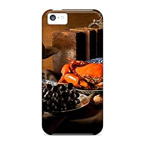 Unique Design Iphone 5c Durable Tpu Case Cover Food On The Table