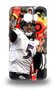 Hot Tpye NFL Baltimore Ravens Joe Flacco #5 3D PC Case Cover For Galaxy S6 ( Custom Picture iPhone 6, iPhone 6 PLUS, iPhone 5, iPhone 5S, iPhone 5C, iPhone 4, iPhone 4S,Galaxy S6,Galaxy S5,Galaxy S4,Galaxy S3,Note 3,iPad Mini-Mini 2,iPad Air )