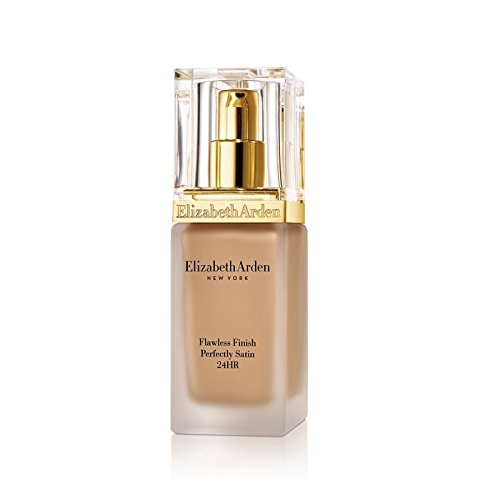 Elizabeth Arden Flawless Finish Foundation - Elizabeth Arden Flawless Finish Perfectly Satin 24hr Broad Spectrum SPF 15 Makeup, Beige, 1.0 fl. oz.