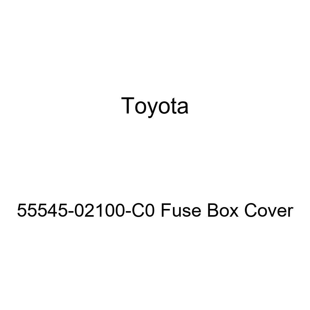 Toyota 55545-02100-C0 Fuse Box Cover