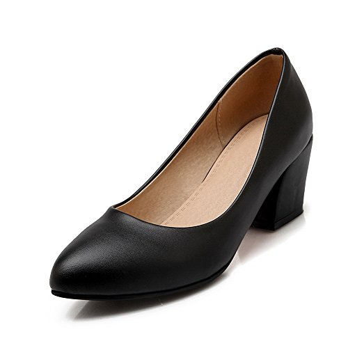 weipoot-womens-pointed-closed-toe-kitten-heels-pull-on-solid-pumps-shoes-black-40