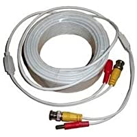 Acelevel Premium Quality 100 Feet Video Power BNC RCA Cable for Q-See CCTV Cameras