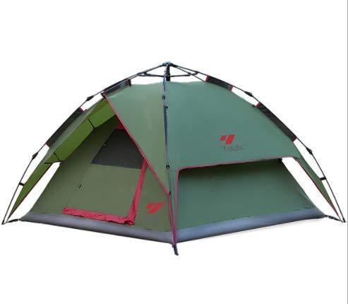 多機能屋外テント野生のキャンプのテント自動スピードオープン大スペース防雨テント   B07QHVVVRC