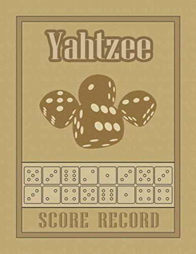 (Yahtzee Score Record: 100 Yahtzee Score Sheet, Game Record Score Keeper Book, Score Card)