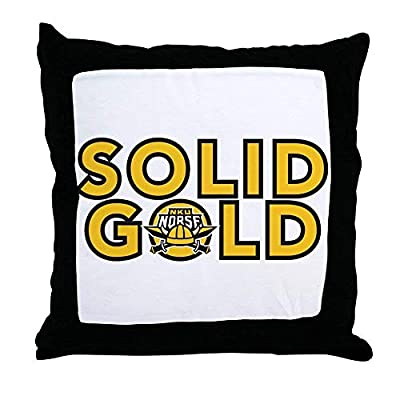 FiuFgyt Northern Kentucky NKU Norse Solid Throw Pillows Couch Cushion Covers Canvas Sofa Pillow Case 18 x 18