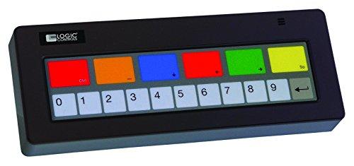 Bematech KB1700U-A-BK KB1700 Series 17 Key Programmable Keyp