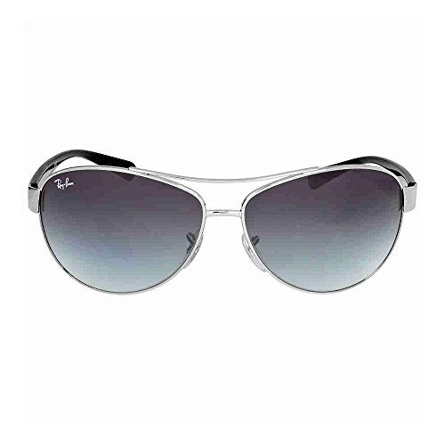 Ray-Ban RB 3386 Sunglasses Silver / Grey Gradient 63mm 2-Pack (Quantity of 2 - Ray 3386 Ban