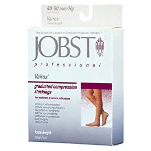 Jobst Relief 30-40 Thigh-Hi Black 30-40 Silicone Band