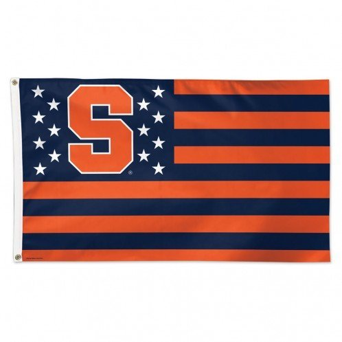 WinCraft NCAA Syracuse University 15376115 Deluxe Flag, 3′ x 5′ Review