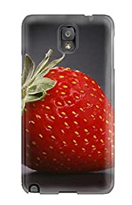 Tpu Case Cover Compatible For Galaxy Note 3 Hot Case Strawberry