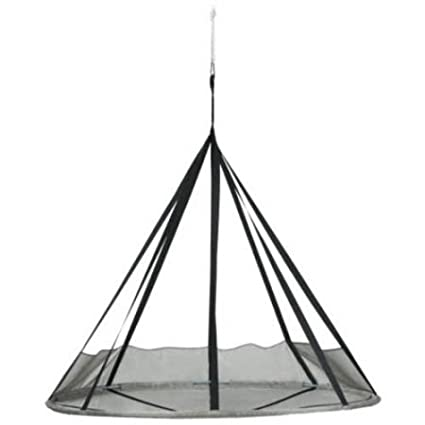 Superieur FlowerHouse Flying Saucer Polyester Metal Hanging Chair With Bird And Bug  Net, Silver