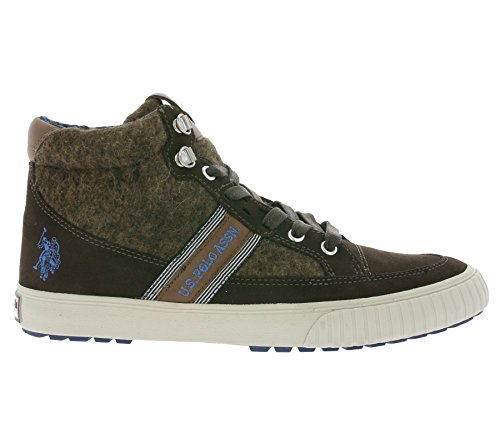 Uomo Us Polo Association Nous Assn. Baskets En Daim Marron Fw 16 En Camoscio Ai 2016