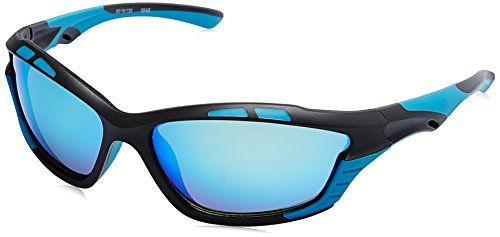 Fastrack UV Protected Sport Men's Sunglasses – (P404BU1|65|Blue Color)