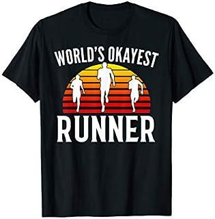 Best Gift World's Okayest Runner Funny Marathon Run/Running Gift  Need Funny TShirt / S - 5Xl