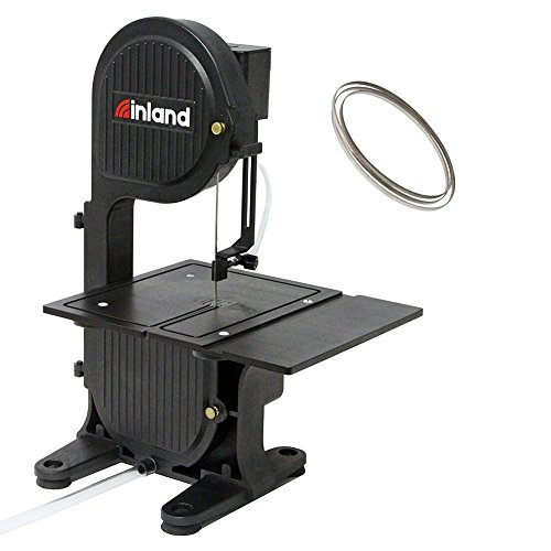 (Inland Craft DB-100 Diamond Band Saw | Portable Tabletop Saw | Includes Diamond Band Saw Blade)