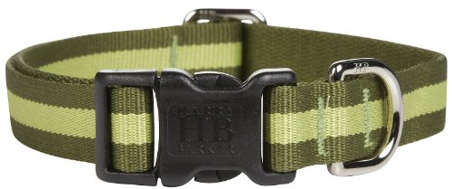 Harry Barker Eton Collar - Green & Green - Large - 16-26 inch