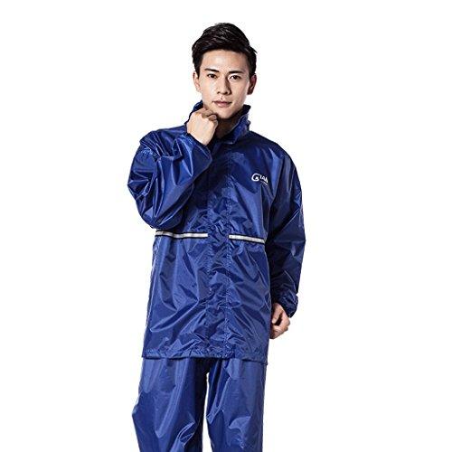 Esterni Impermeabile Uomo Adulti Per Sella Size Set Trekking Xl Traspirante Da In Color Blue Zr1Z5qzwn