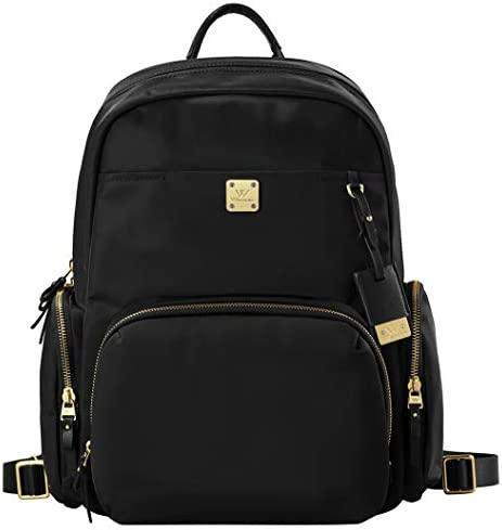 Wolfrealm Business Backpack Laptop Backpack Purse for Women Lightweight Waterproof Travel Bags Ladies Notebook Bag