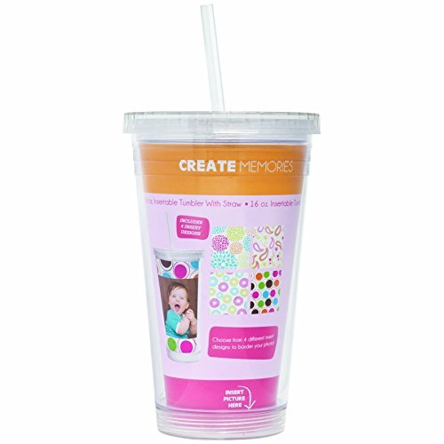Photo Acrylic Tumbler with Straw]()