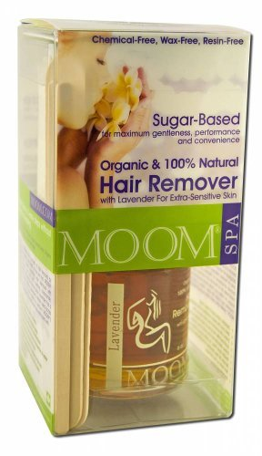 Moom Organic Hair Removal Kit With Lavender SPA Formula -- 1 Kit by Moom