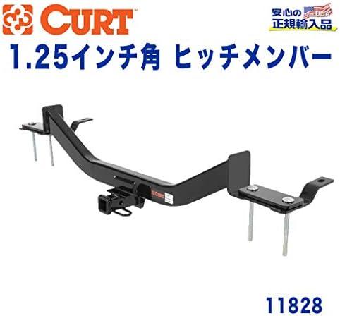 [CURT カート社製 正規代理店]Class1 ヒッチメンバー レシーバーサイズ 1.25インチ 牽引能力 約908kg ベンツ S550 セダン