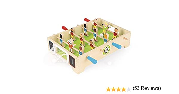 Janod Mini Baby-Foot Champions (j02070), Multicolor (Juratoys: Amazon.es: Juguetes y juegos