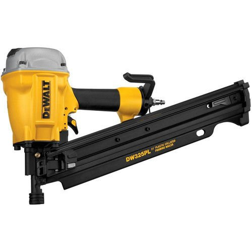 DEWALT DW325PL 3-1/4 Inch 21 Degree Plastic Collated Framing Nailer