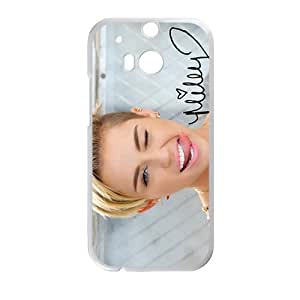 Happy Miley cyrus Phone Case for HTC One M8