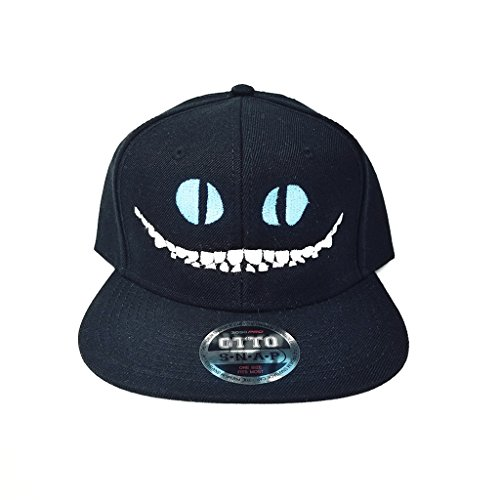 fan products of CHESHIRE CAT FLAT SIX PANEL PRO STYLE SNAPBACK HAT #1868