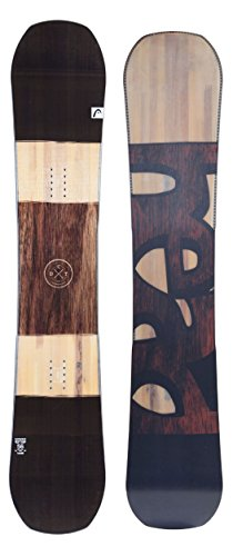 HEAD 2018 Daymaker Wood Grain Men's All Mountain Snowboard