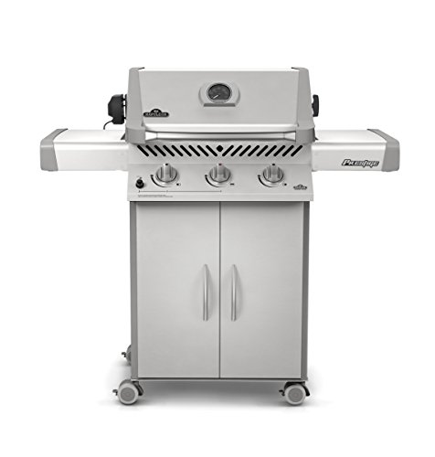 napoleon p308rbnss 7 prestige gas grill with rear burner gas barbeque reviews. Black Bedroom Furniture Sets. Home Design Ideas