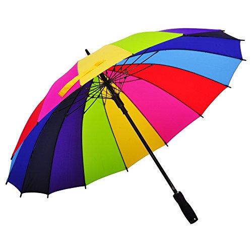 Straight Umbrella AmbrellaOK Windproof waterproof product image